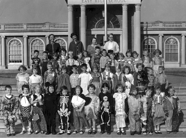 Class of 1968 in kindergarten (afternoon sessions).