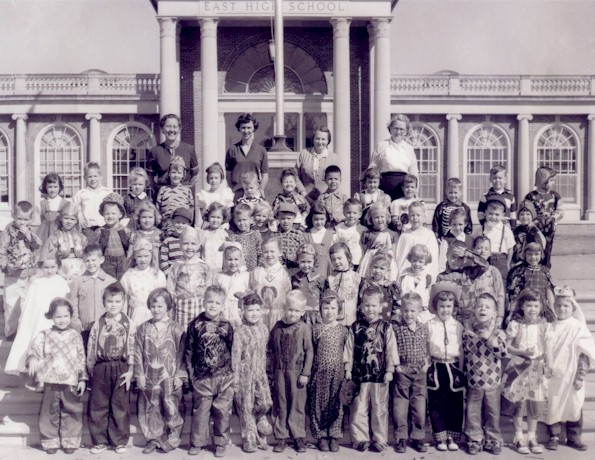 Class of 1968 in another kindergarten section (whether morning or afternoon session is yet to be determined.