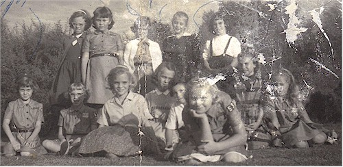 A Brownie Troop with several Class of '68 members.