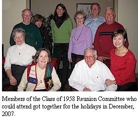 Reunion Committee holiday gathering