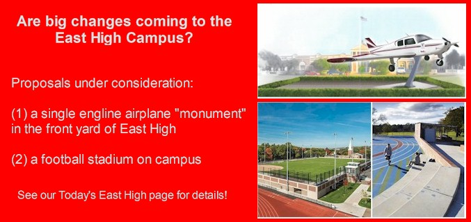 Are big changes coming to the East High campus?