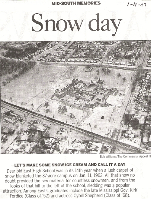The Commercial Appeal, Mid-South Memories, Jan. 11, 2006, photo from January 11, 1962